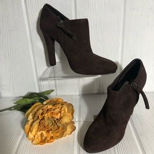 Lauren Ralph Lauren Booties Ankle Boots Brown 5